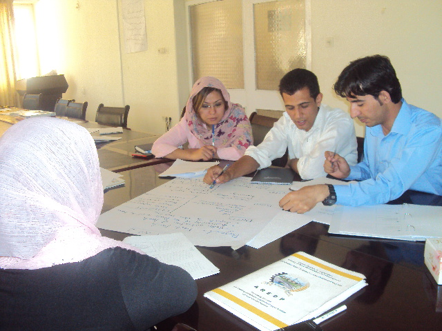 e-procurement management training for Afghans